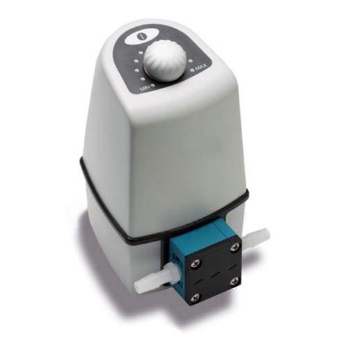 Regelbare Einkopf-Membran-Pumpe für flüssige und aggressive Medien sowie Reinstmedien