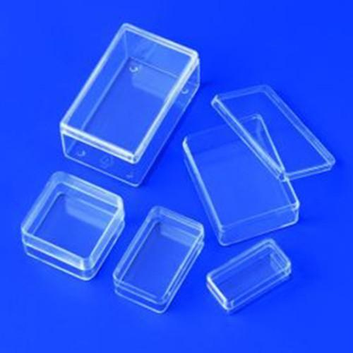 Präparatebox aus PS - mit Stülpdeckel
