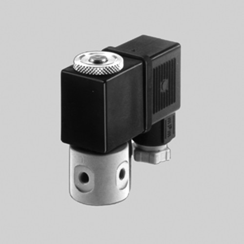3/2-Way Miniature Solenoid Valve made of Stainless Steel