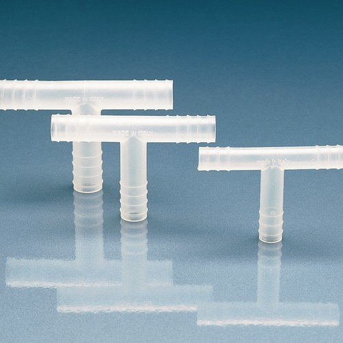 T-Shaped Barb Union made of PP or PVDF