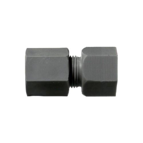 Gerader-Rohrverbinder mit Innengewinde aus PP, PVDF oder PTFE