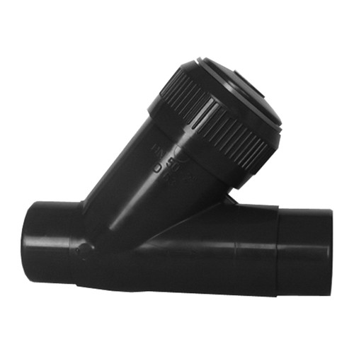 Check Valve (Angle Seat) made of PVC-U with Spigot