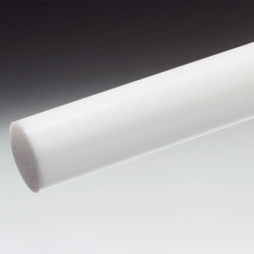 Solid Rod made of PTFE (virgin) - pressed
