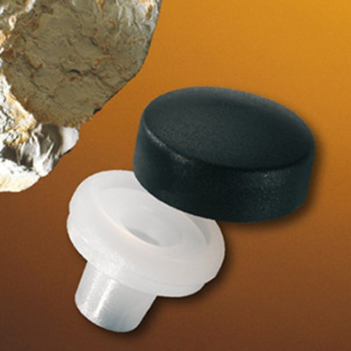 Decorative Screw Cap made of HDPE