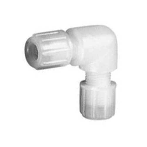 Micro Elbow Connector made of PTFE