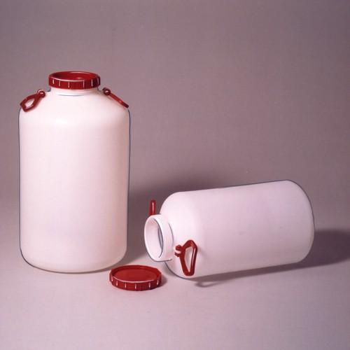 Lager-Weithalsflasche aus HDPE