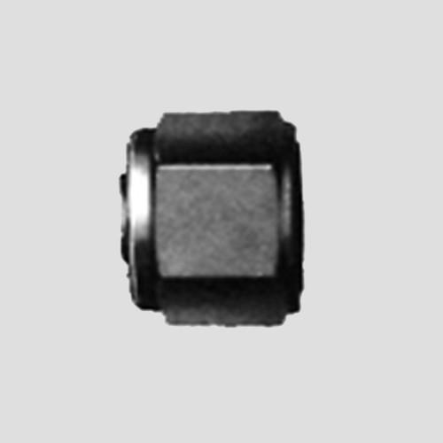 Verschlusskappe für Rohrverschraubung aus Messing oder Edelstahl