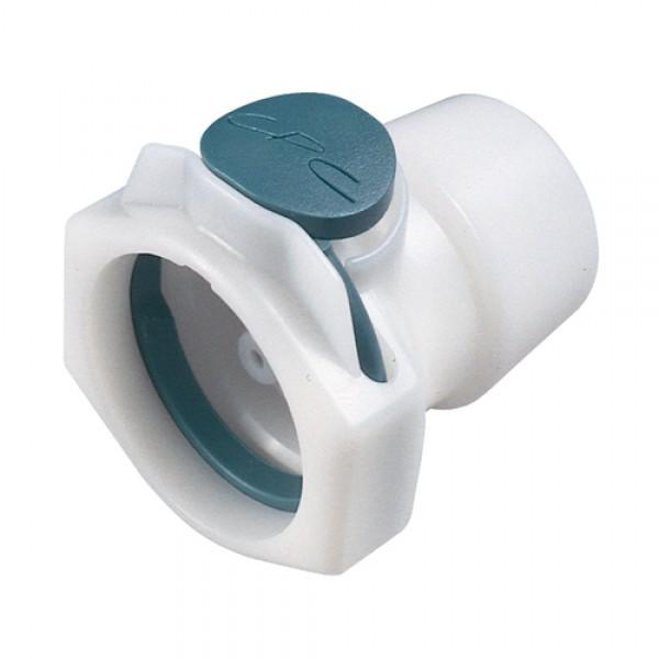 Multilumen-Schnellverschlusskupplung aus POM für sechs Schlauchleitungen